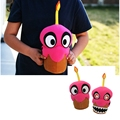 Plush Fnaf  Fox Five Nights at Freddy's Nightmare Cupcake Reversible 25cm  Plush Toy And Baby Dolls