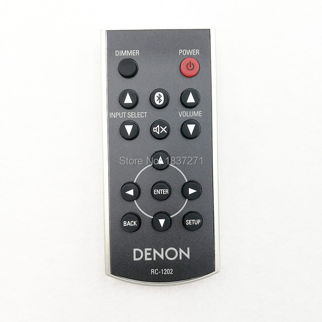 Nowa oryginalna RC 1202 zdalnego sterowania dla DENON PMA 50 HI FI połączenie audio DCD 50 odtwarzacz CD
