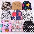 Новые горячие модные девочка мальчик новорожденных взять домой наряд новорожденный больница шляпу младенческой шляпу леопарда звезда полоса beenie рождество подарок