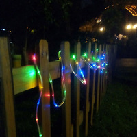 5M 100Leds Outdoor LED Solar Twinkling String Light Waterproof Lamp Underwater Neon DIY Christmas Festival Party