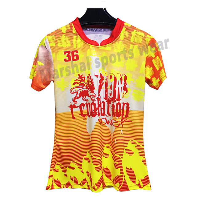 c74f686a0e7 placeholder Newest Yellow Color Soccer Jersey Design Football Shirts Kits  Sublimation Women s Soccer Uniform