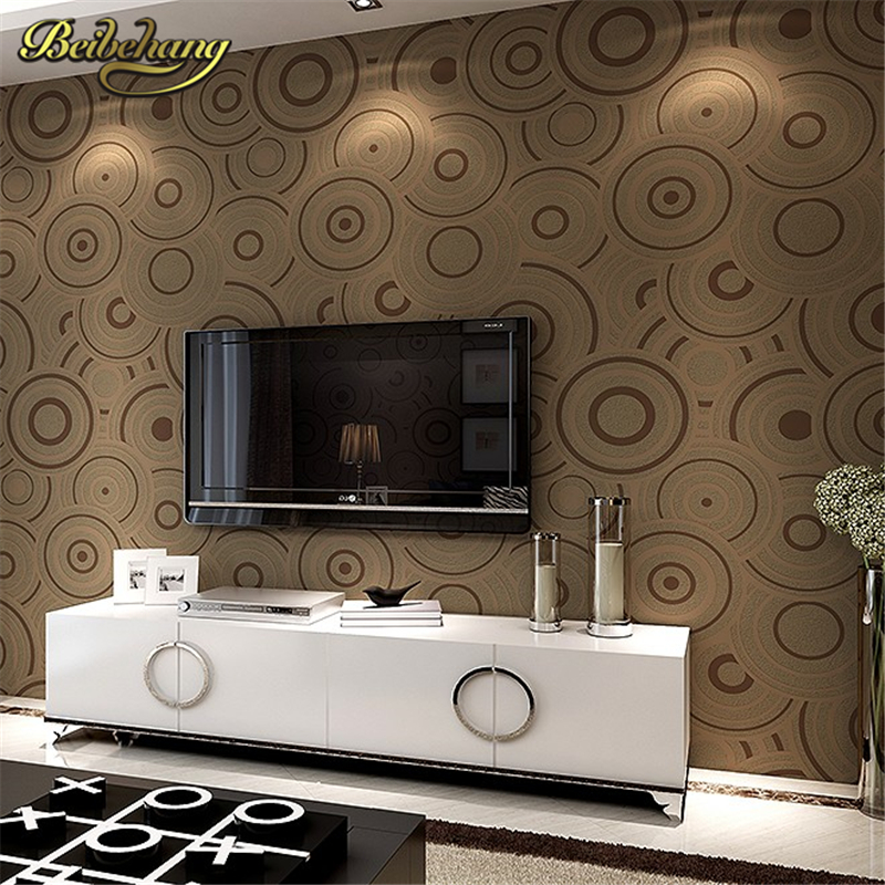 beibehang Circle papel de parede 3d wallpaper roll mural papel de parede floral Papel Decorativo wall paper Living Room flooring