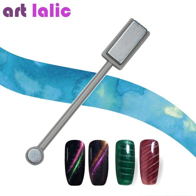 Artlalic Double Head Nail Art Magnet Stick Cat Eye Gel Polish ...