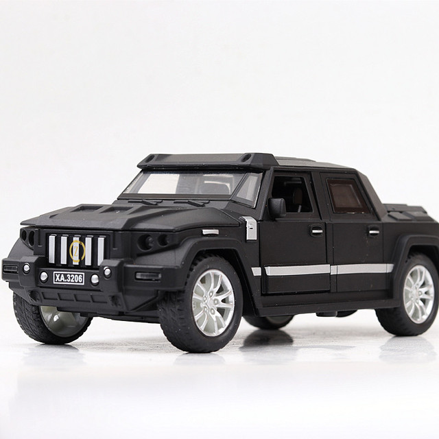1:32 Diecasts & Toy Vehicles kaibahe war shield Car Model With Sound&Light Collection Car Toys For Boy Children Gift brinquedos