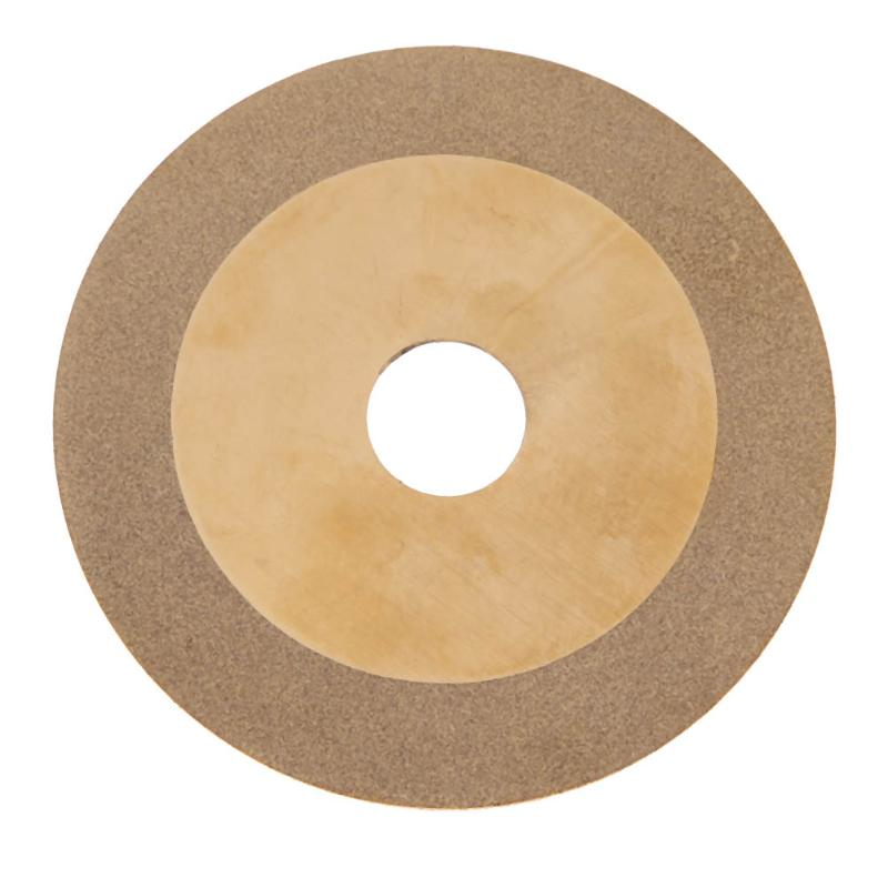 100mm Diamond Coated Glass Grinding Cutter Saw Blade Wheel Disc Rotary Tool Gold Grinding Cut Off Wheel Blades Power Tools