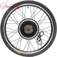 ConhisMotor Ebike 36V/48V 1500W 20inch 700c Rear Wheel Free Speed Gear Brushless Gearless Hub Motorize Wheel
