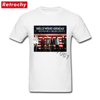 Brand Designer T Shirt Hollywood Undead Teenagers Short Sleeved Crew Neck Cotton TShirt For Men Urban