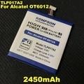 2450mAh TLP017A2 For ALCATEL One touch idol mini Battery OT6012 6012A 6012W 6012E 6012D S530T TLp017A1 Batteria