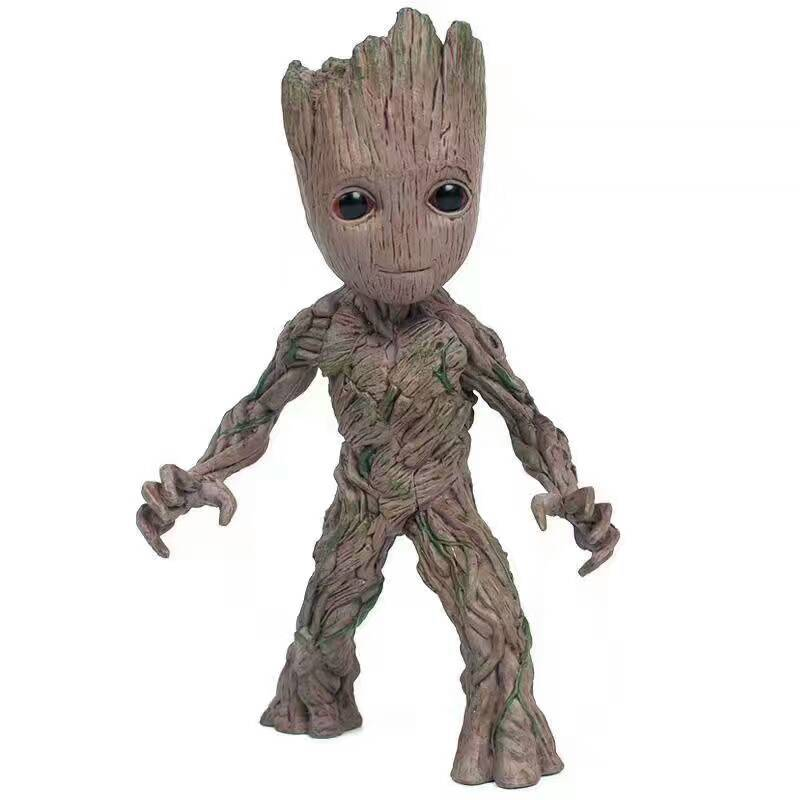 Popular  Neca Marvel Guardians of The Galaxy Avengers Cute Baby Tree Man Joints Moveable Action Figure Model