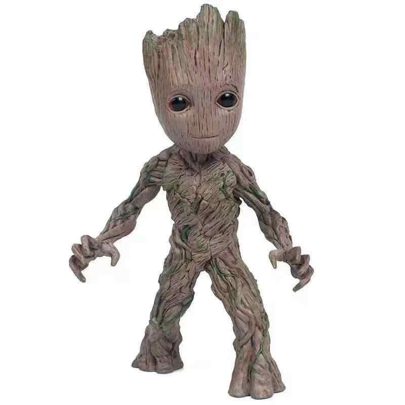 Neca مارفل طفل جروت شجرة رجل المفاصل المنقولة عمل نموذج لجسم اللعب 15 سنتيمتر