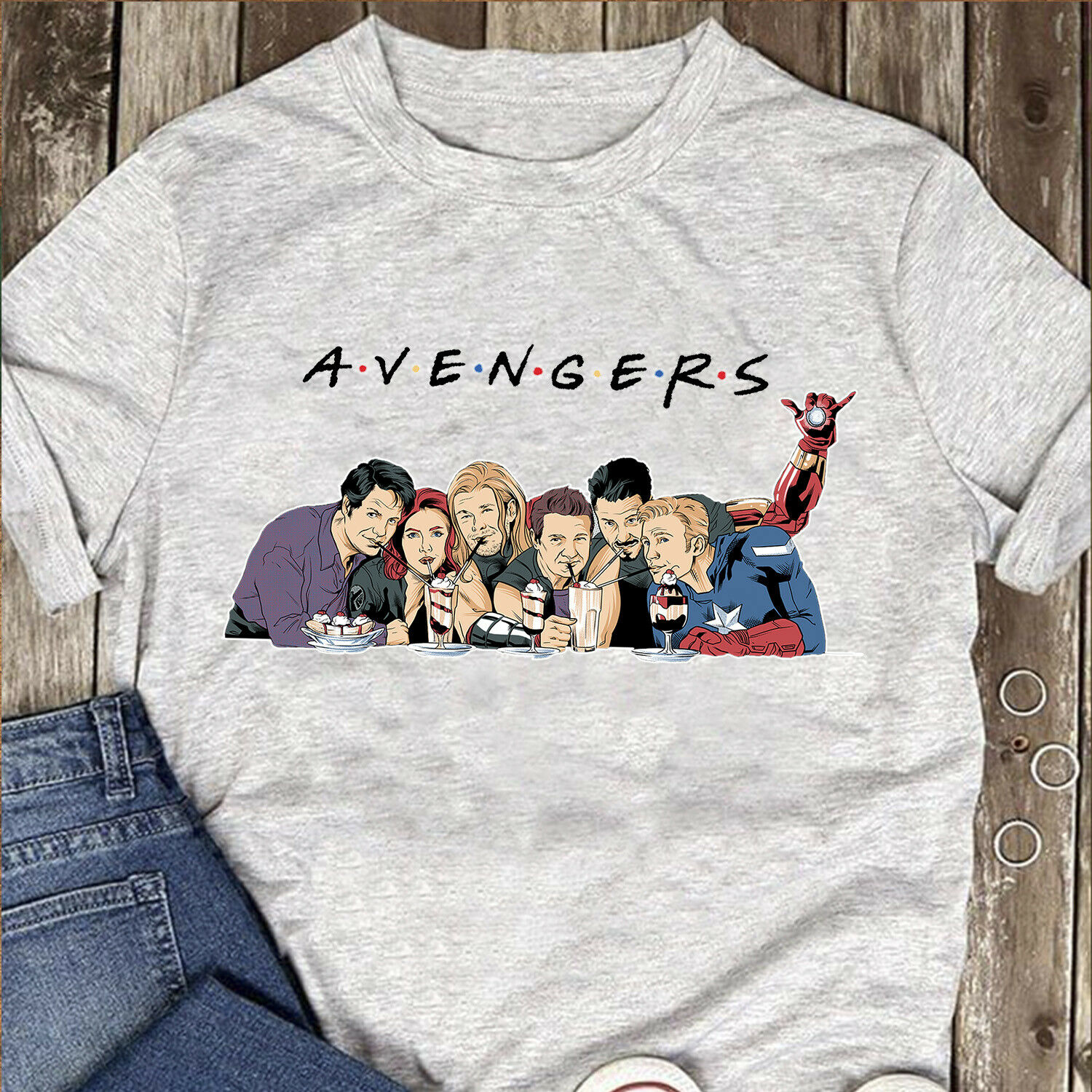 Marvel Avengers Black Widow Captain America Men Sport Grey   T     Shirt   Cotton S-3XL 2019 New 100% Cotton   T  -  Shirts   Men