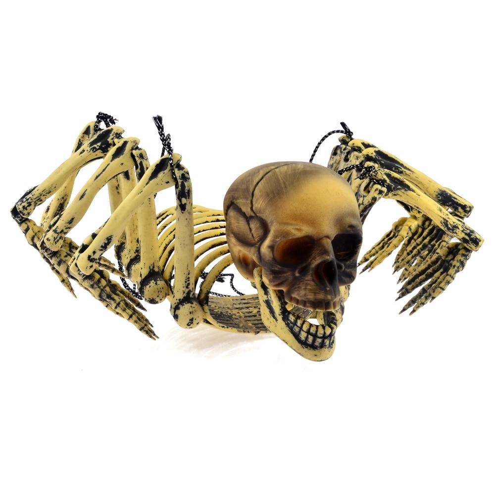 2016 Hot Halloween Hanging Spider Skeleton Door Hanger Fun ...