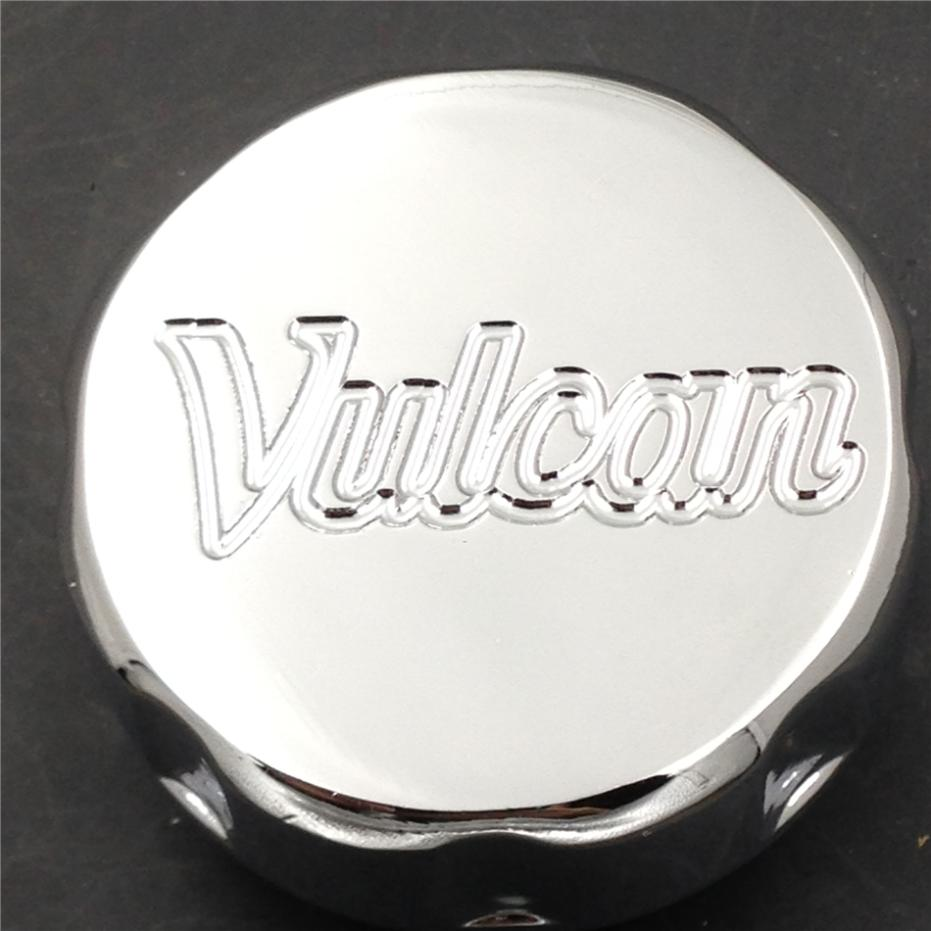 Aftermarket free shipping motor parts For Motorcycle Kawasaki Vulcan 500 750 800 900 1500 1600 Billet Fluid Reservoir Cap CHROME aftermarket free shipping motor parts for motorcycle 1989 2007 suzuki katana 600 750 billet oil brake fluid reservoir cap chrome