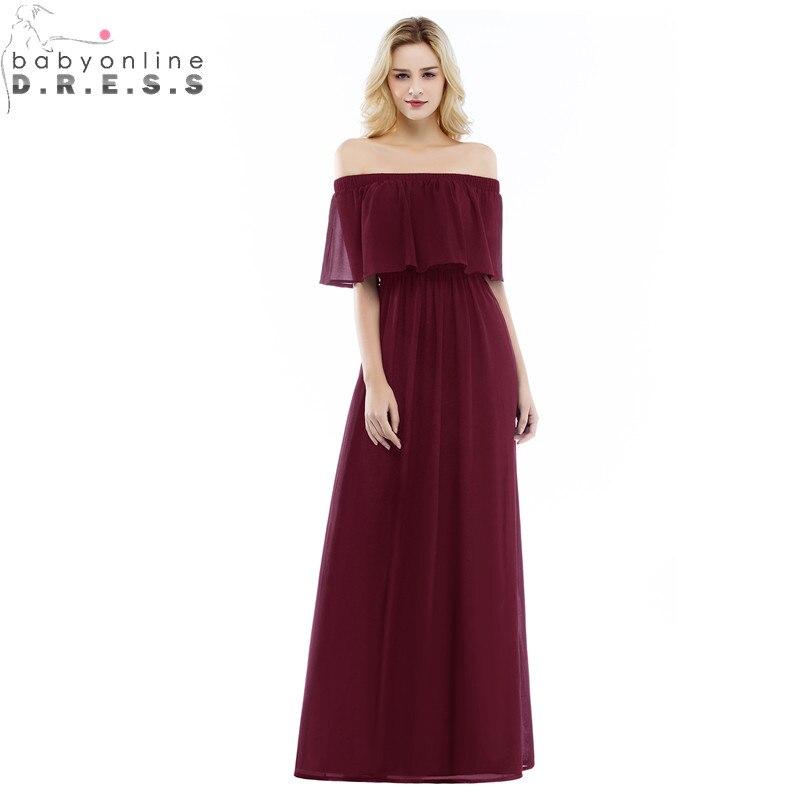 Robe de Soiree Longue Sexy Open Back Burgundy Cap Sleeve   Evening     Dress   Cheap MultiColor Chiffon   Evening   Gown Vestido de Festa