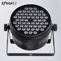 Aluminum Alloy LED Par 54x4W Cool And Warm White Power Con Plug For DMX 512 Stage Effect Light DJ Disco Party Fast Shipping