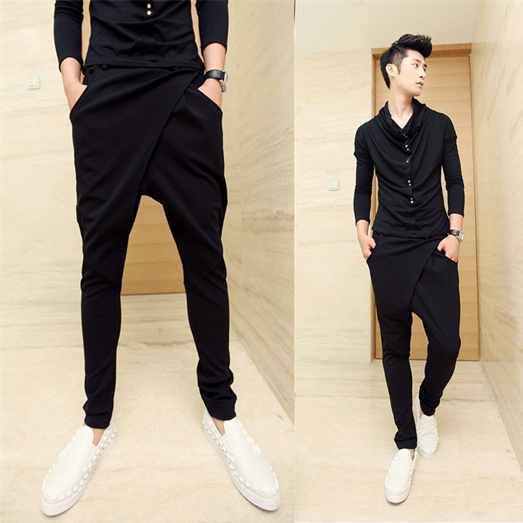 Free shipping harem pants online in men store. Best harem pants for sale. Cheap harem pants with excellent quality and fast delivery. | nichapie.ml Men's Fashion Solid Color Pleated Tether Belt Harem Casual Feet Pants. Men's Fashion Solid Color Pleated Tether Belt Harem Casual Feet Pants (17% OFF) Style: Stylish and matches my.