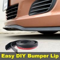 Bumper Lip Deflector Lips For SEAT Altea Front Spoiler Skirt For TopGear Friends Car Tuning View / Body Kit / Strip