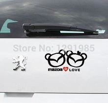 DIY funny Mazda in love wall vinyl car sticker custom made home car decoration craft poster fashion design