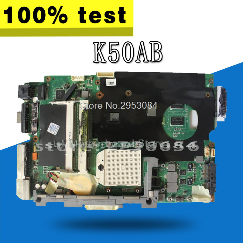 laptop motherboard K40AB K40AD K40AF K50AB K50AD K50AF motherboard Motherboard k50af motherboard 512m 15 6 inch ram for asus k50af x5daf k40ab laptop motherboard k50af mainboard k50af motherboard test 100
