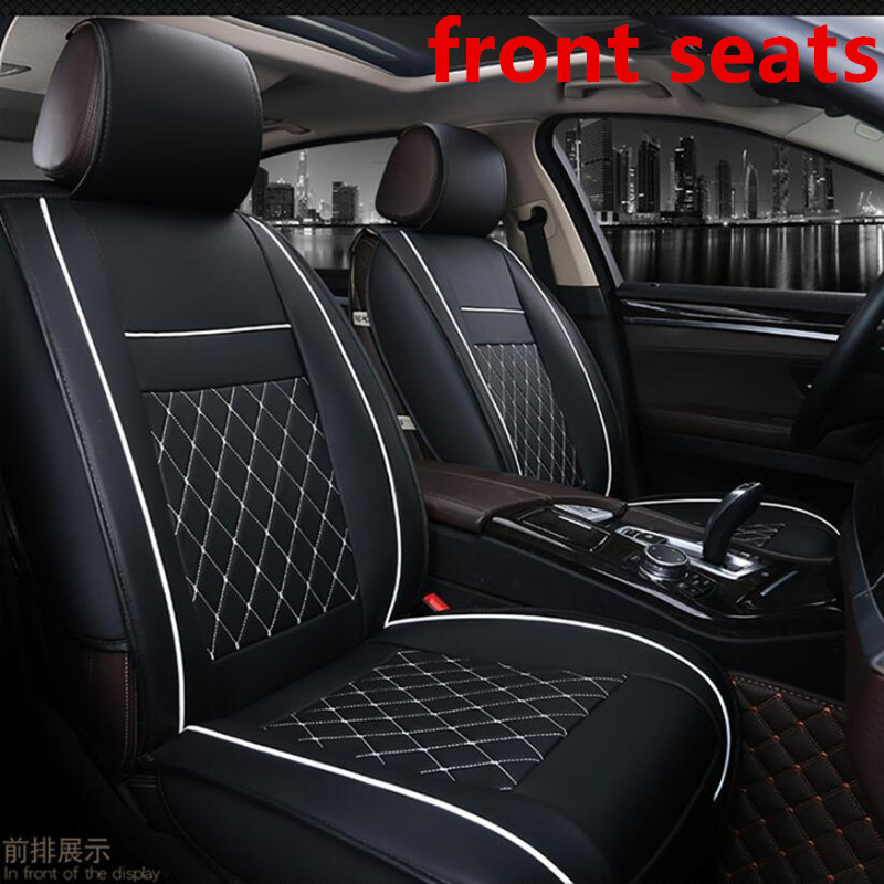 Sensational Pu Leather Car Seat Cover Full Set Universal Fit Most Cars For For Citroen C1 C2 C3 C4 C5 Saxo Volkswagen Polo Seat Cushion Theyellowbook Wood Chair Design Ideas Theyellowbookinfo