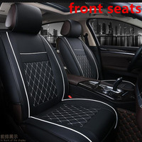 PU Leather Car Seat Cover Full Set Universal Fit Most cars for FOR CITROEN C1 C2 C3 C4 C5 SAXO Volkswagen Polo Seat cushion