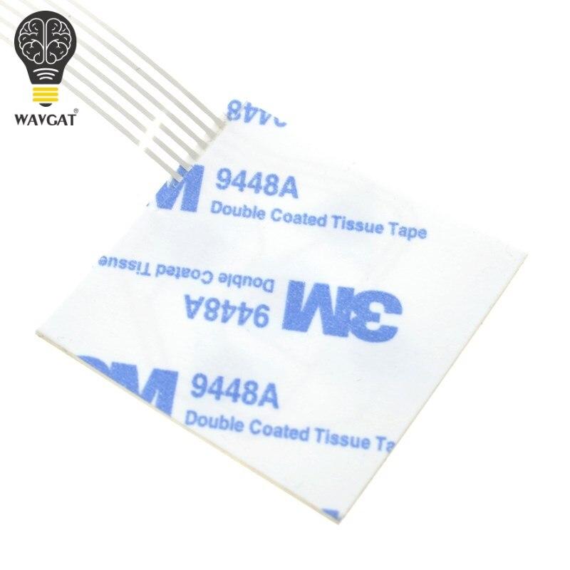 WAVGAT 1x5 Matrix Array 5Key Membrane Switch Keypad Keyboard 1*5 Keys Control Panel