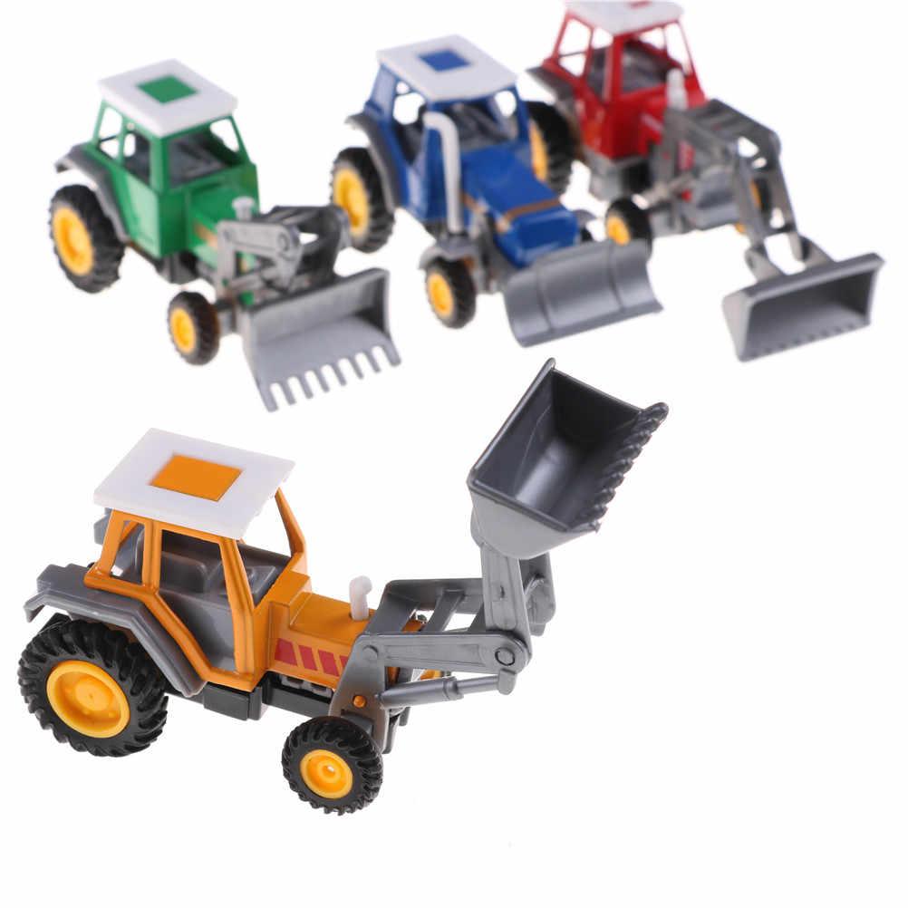 Baru kedatangan 1 pc traktor skala model anak mainan Promosi! paduan petani rekayasa van mobil mainan pendidikan