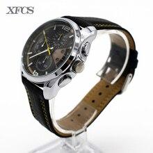 XFCS impermeable reloj para hombre del reloj del cuarzo para hombre marca de fábrica superior famosa relojes topmerk original reloj carnaval esqueleto tendencia tt
