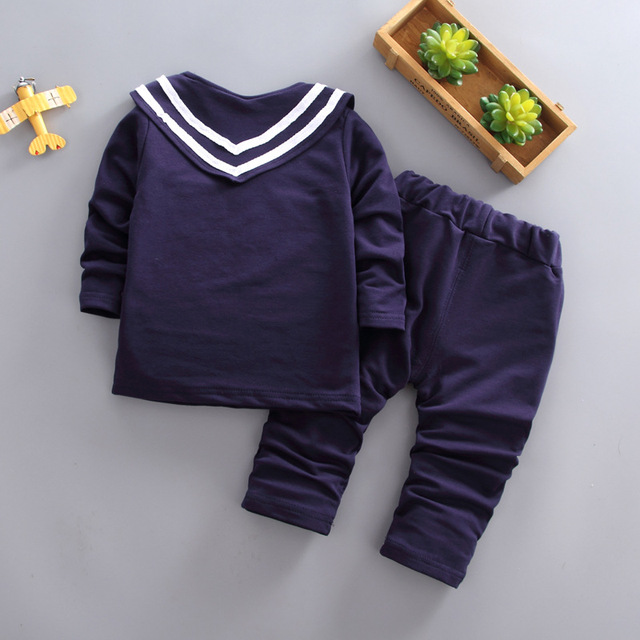 BibiCola spring autumn boys clothing sets 2018 children boys cotton long sleeve uniform kids boy sports clothes brand tracksuits