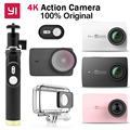 "Original Xiaomi YI 4K Action Camera Ambarella A9SE Sports Action Camera 2.19"" 155"" 12.0MP CMOS EIS LDC   International Edition"