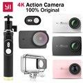 """Original xiaomi yi 4 k acción cámara ambarella a9se action sports cámara 2.19 """"155"""" 12.0MP CMOS EIS LDC Edición Internacional"""