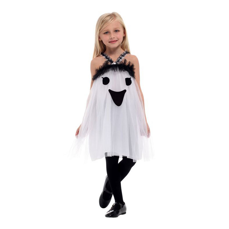 Umorden Purim Carnival Halloween Scary Costumes Kids Children White