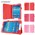 CTRINEWS Stand Leather Case for Samsung Galaxy Tab 3 8.0 T310 T311 Флип Кожаный Tablet Аргументы за Samsung Galaxy Tab 3 Крышка мешок