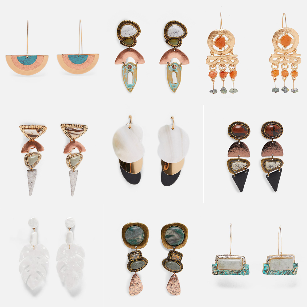 JUJIA statement <font><b>earrings</b></font> wholesale women crystal statement <font><b>Earrings</b></font> for women party wholesale good quality <font><b>ZA</b></font> <font><b>earrings</b></font> image