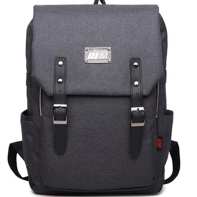 Fashion Men Backpacks Vintage Canvas Bagpack School Shoulder Bag Women Travel Bags Large Capacity Casual Daypack Rucksacks 37tp