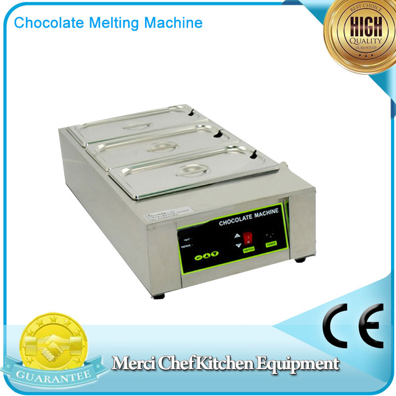 3 Pan Food Machine Digital Chocolate Melting Machine Stainless Steel Chocolate Machine Household and Commercial fast shipping food machine digital chocolate melting machine stainless steel chocolate machine household and commercial