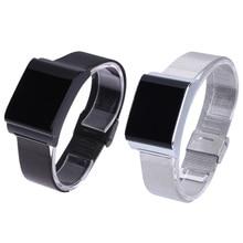 X9 плюс умный браслет с Сталь ремень Bluetooth Спорт Смарт часы-браслет Приборы для измерения артериального давления сердечного ритма Мониторы SmartBand