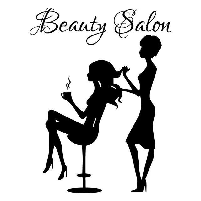 10 7cm 14cm Beauty Salon Decal Hair Stylist Doing Girls Hair Barber Vinyl Car Stickers S9 0062 Car Sticker Vinyl Car Stickersvinyl Car Aliexpress