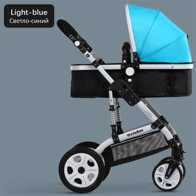 Wholesale Baby Travel Folding Strollers Seat Sleep Basket Carry Bag Winter Children Cart Umbrella Car Pokemon Red Blue Black