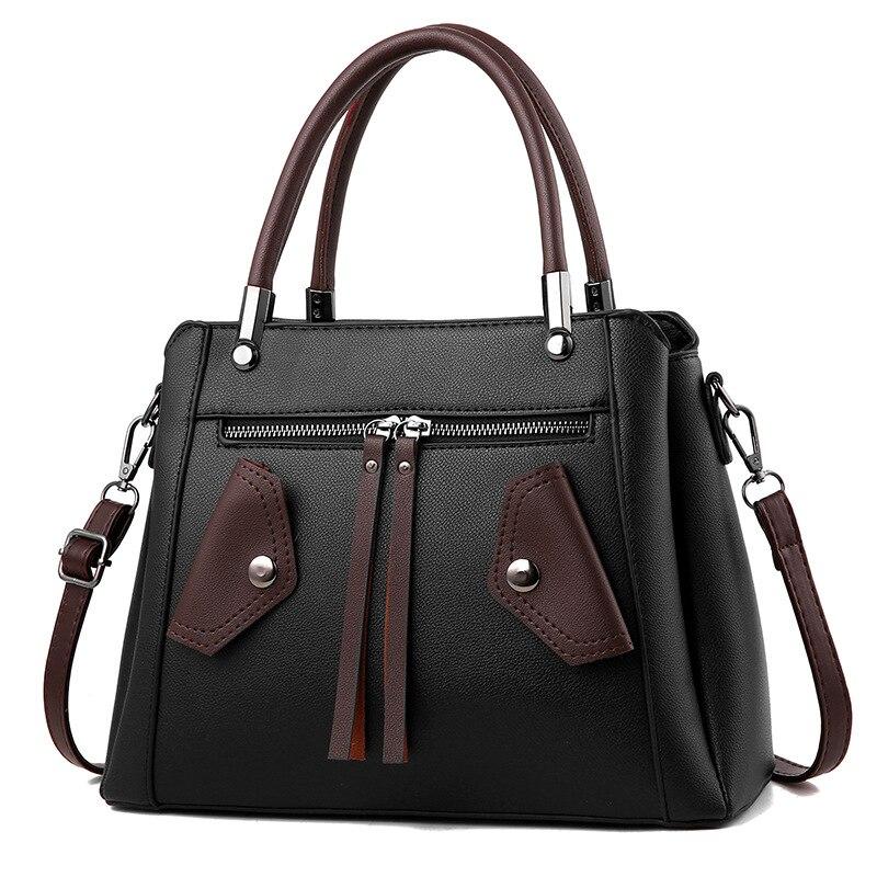 2018 new multi pocket women handbags shell small gray female solid crossbody bag vintage women