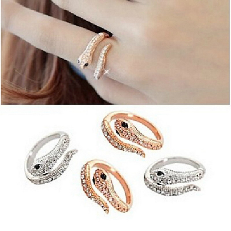 2016 New Fashion Korean Style Gold Silver Finger Ring