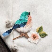 1 шт. Новинка 3D ремесло шитье вышитое Железо на аппликация патч птицы DIY аксессуары для одежды
