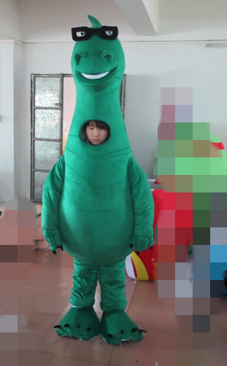 custom green dragon mascot costumes cartoon dragon costumes