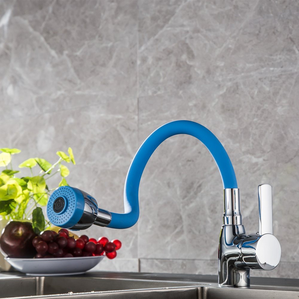 Stainless Steel 360 Degree Rotatable Faucet Hot Cold Mixer Water Tap Kitchen Wash Basin Faucet For Kitchen Hardware Supplies
