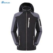 Autumn Outdoor Jacket Men Army Polartec Sportswear Clothes Warm waterproof elastic single layer Sport Jacket