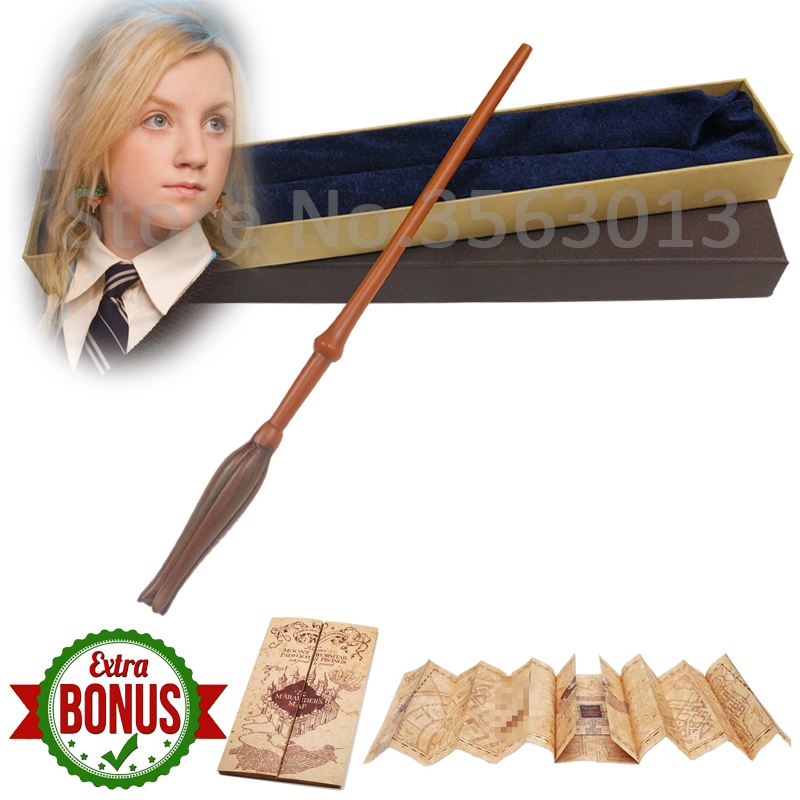 Image 4 - Original Version Quality Metal Core Deluxe COS Dumbledore Magic Wand of Magical Stick with Gift Box pack of Hp-in Magic Tricks from Toys & Hobbies