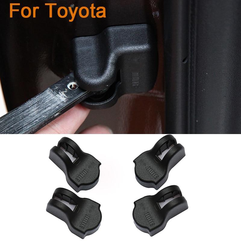 4pcs/lot Car styling Door Check Arm Protection Cover For Toyota Corolla XT Camry Proda Vios Yaris Land Cruiser Tandra Prius Reiz