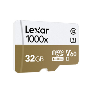 Image 2 - ليكسر tarjeta مايكرو sd بطاقة 32 جيجابايت TF فلاش بطاقة الذاكرة 150 برميل/الثانية 1000x USB 3.0 قارئ UHS II ل الطائرة بدون طيار Gopro بطل الرياضة كاميرا الفيديو