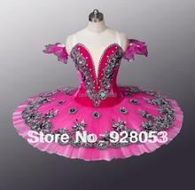 Adult Ballet Tutu Skirt,Classical Ballet Tutu For Girls,Make Tutu Dress,Ballerina Performance Skirt,Rose Red Dance Tutu,AT0064