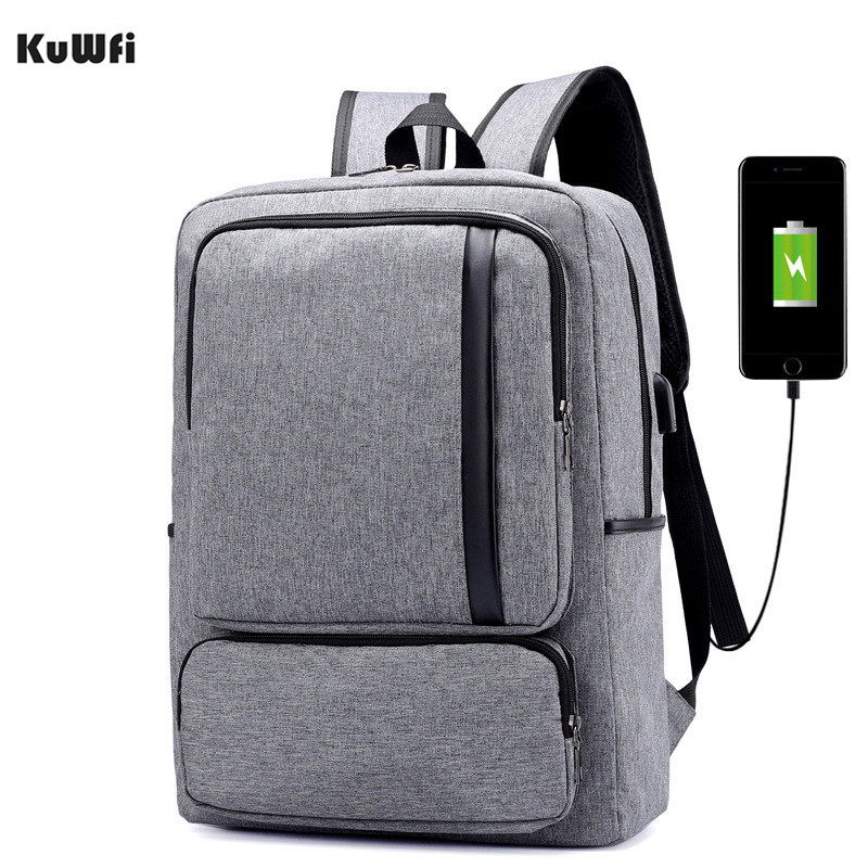 Многофункциональный USB зарядка 15 дюймов рюкзак водонепроницаемый ноутбук нейлон Повседневная Бизнес Досуг дорожная сумка для компьютера анти вор-in Сумки и чехлы для ноутбука from Компьютер и офис
